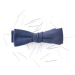 the understated self tie bow tie
