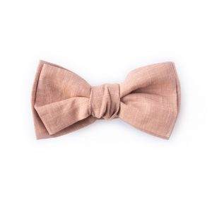 pink summer bow tie